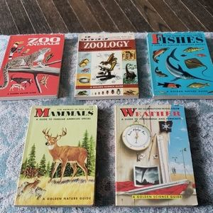 Collection of 5 Nature books